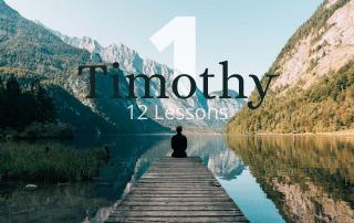 1 Timothy 12 Bible Studies