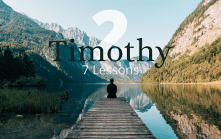 2 Timothy Bible Studies for Groups