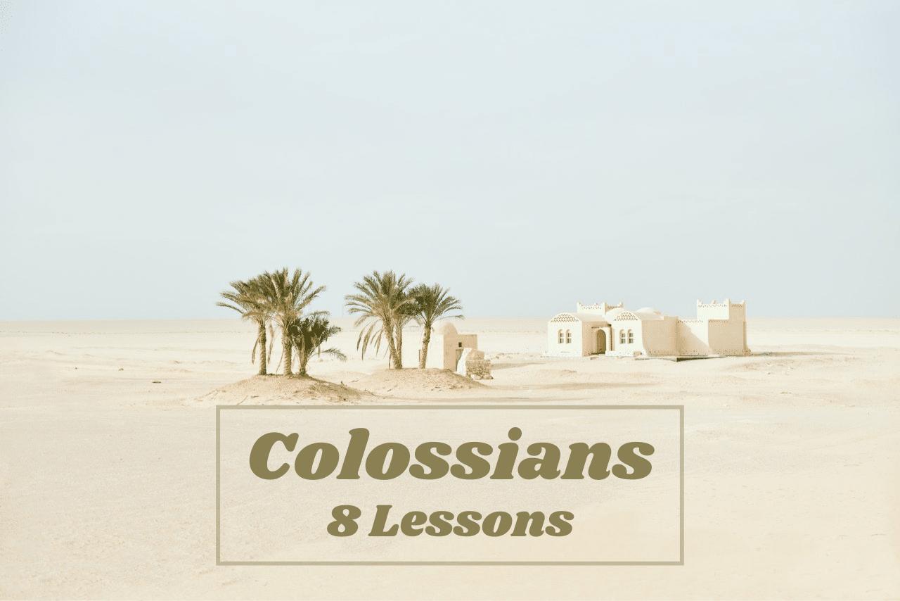 Colossians Bible Study Course