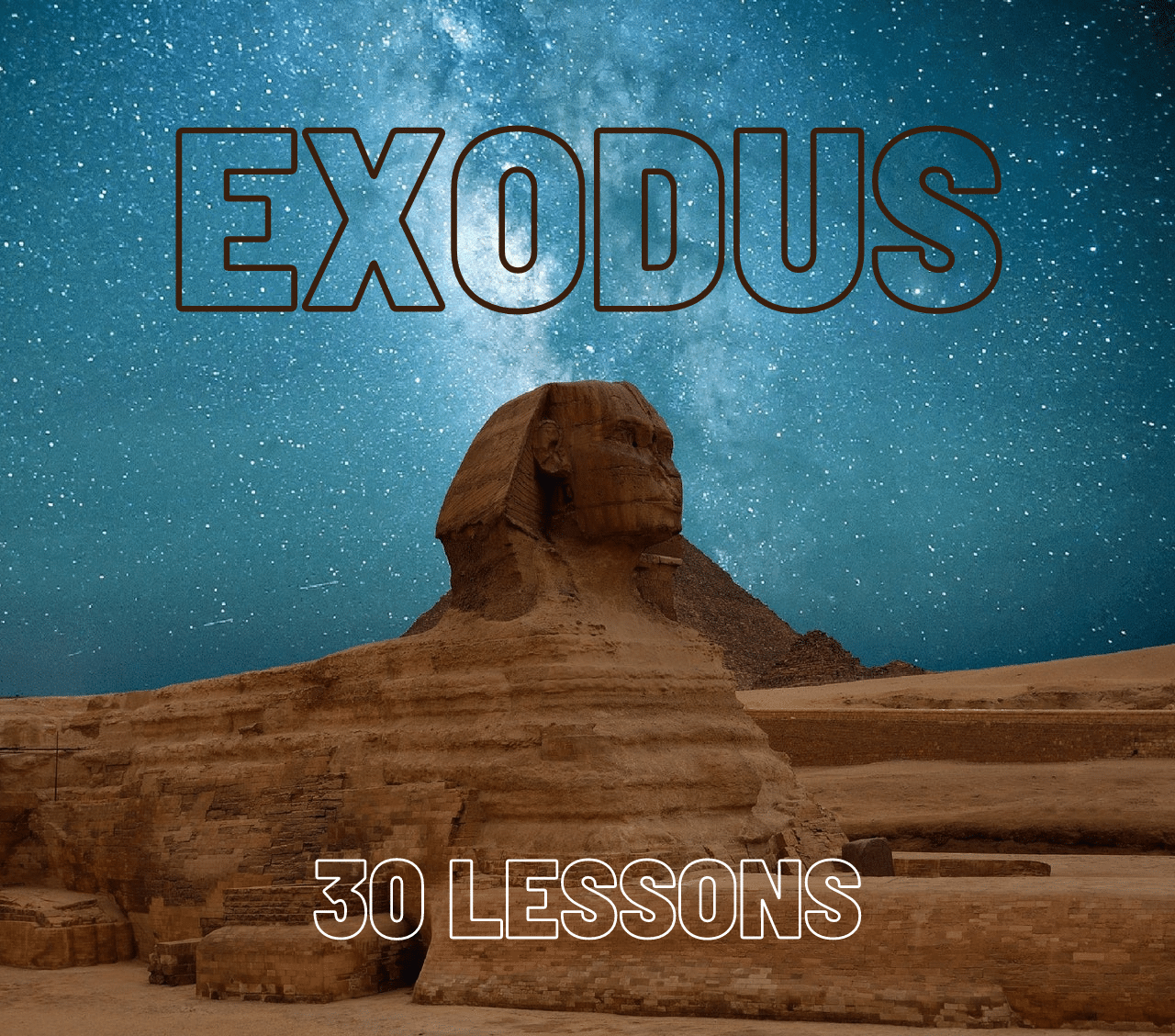 Exodus Bible Studies For Small Groups