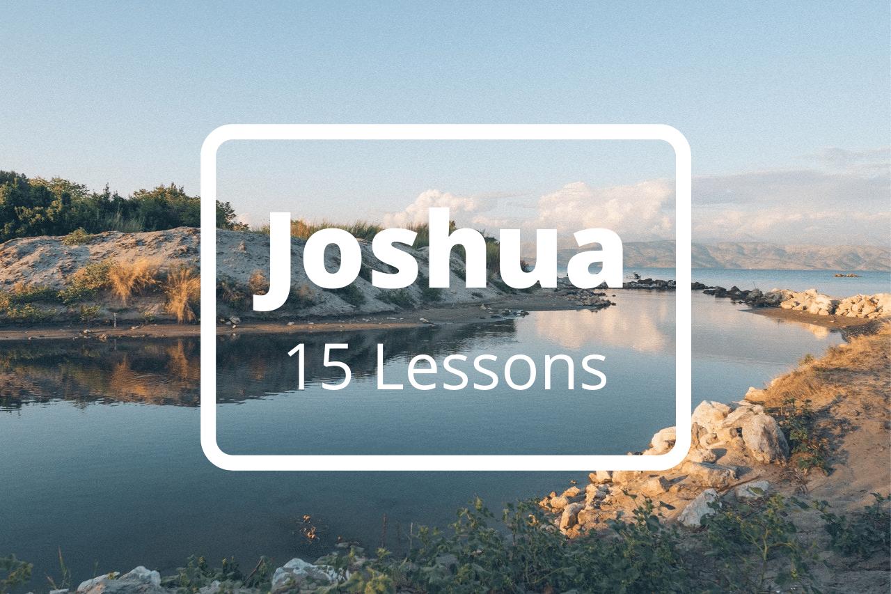 Joshua 15 Bible Study Lessons