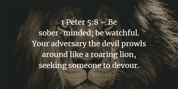 1 Peter 5:8 Verse