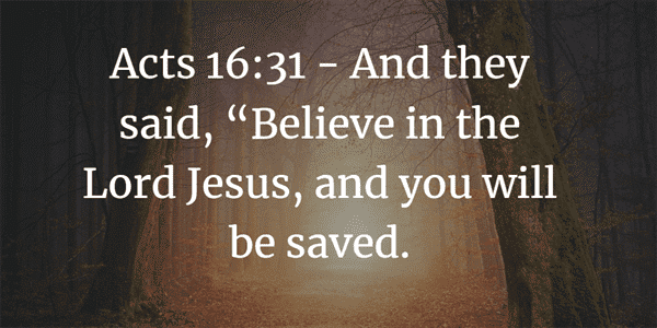 Acts 16:31 Verse