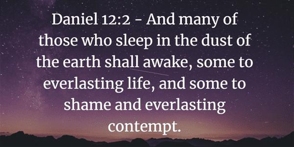 Daniel 12:2 Bible Verse