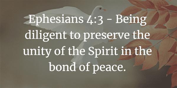 Ephesians 4:3 Bible Verse