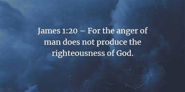 James 1:20 Bible Verse