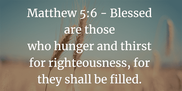 Matthew 5:6 Bible Verse