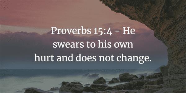 Proverbs 15:4 Bible Verse