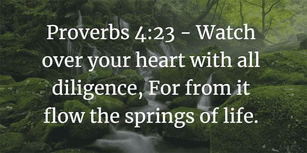 Proverbs 4:23 Bible Verse