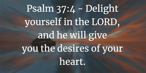 Psalm 37:4 Verse