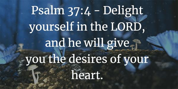 Psalm 37:4 Bible Verse