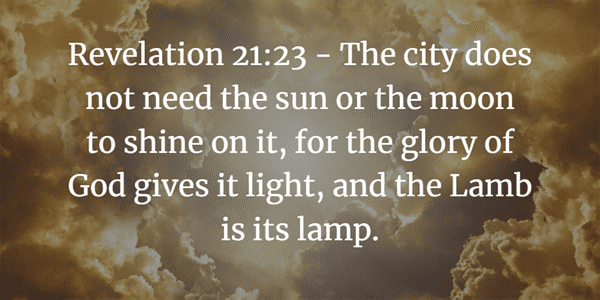 Revelation 21:23 Verse