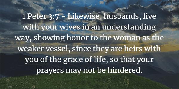 1 Peter 3:7 Bible Verse