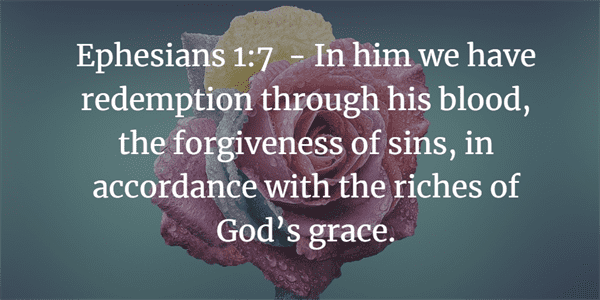 Ephesians 1:7 Bible Verse