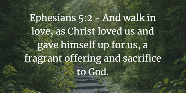 Ephesians 5:2 Bible Verse
