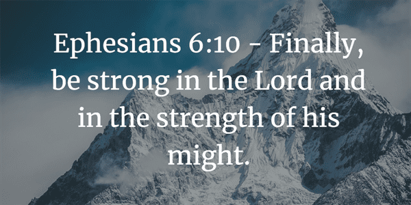 Ephesians 6:10 Bible Verse