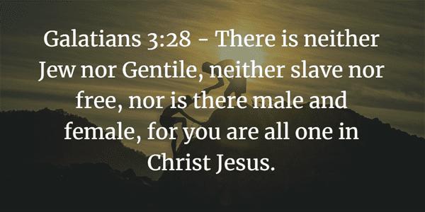Galatians 3:28 Bible Verse