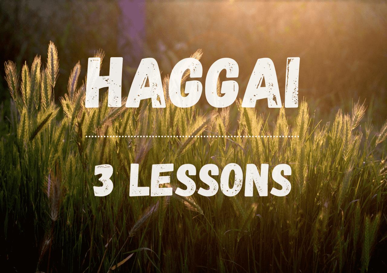 Haggai Bible Studies