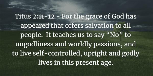 Titus 2:11-12 Bible Verse